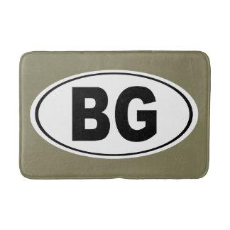 BG Bowling Green Kentucky Badematte