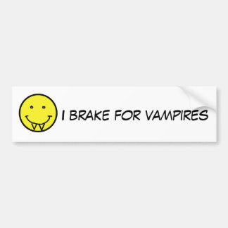 BG, I Bremse für Vampirsaufkleber Auto Sticker