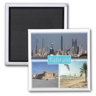 BH * Bahrain Quadratischer Magnet