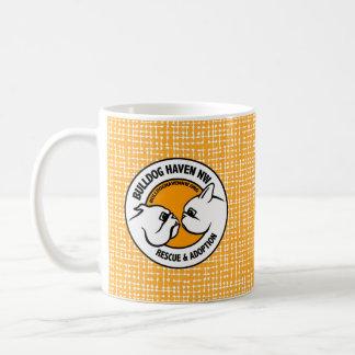 BHNW LOGO (durch Bulldoggen-Hafen Nanowatt) Kaffeetasse