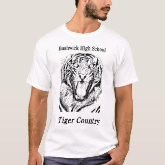 BHS Tiger-Land-Shirt-Entwurf #1 T-Shirt