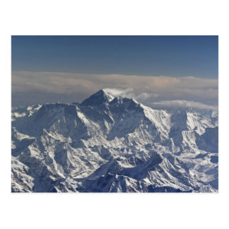 BHUTAN. Ewiger Schnee auf dem Everest-Berg, Postkarte