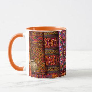 Bhutan-Gewebe für Verkauf Tasse