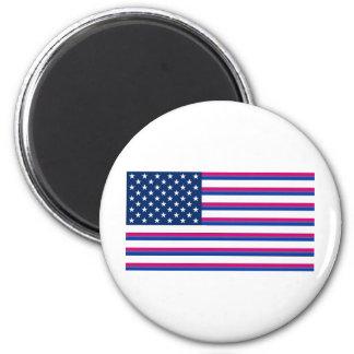 Bi-Amerikaner Runder Magnet 5,1 Cm