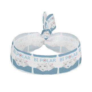 Bi-Eisbären Haarschleife