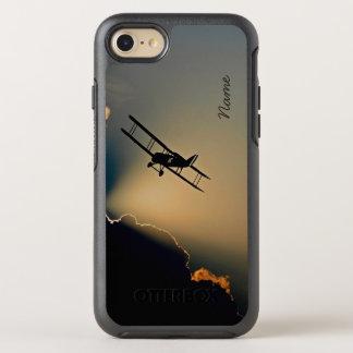 Bi-Flugzeug-Himmel OtterBox Symmetry iPhone 8/7 Hülle
