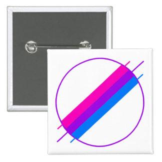 Bi-Stolz-Button Quadratischer Button 5,1 Cm