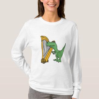 BI T-Rex, das Harfen-Shirt spielt T-Shirt