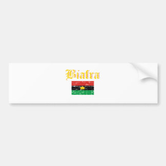 Biafra Flagge Autoaufkleber