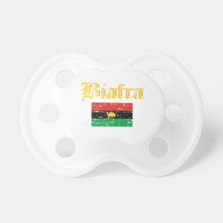 Biafra Flagge Schnuller