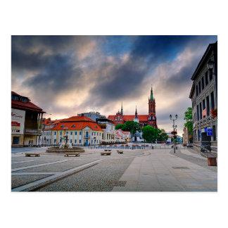 Bialystok Polen Postkarte