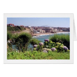 Biarritz, Frankreich Grußkarte