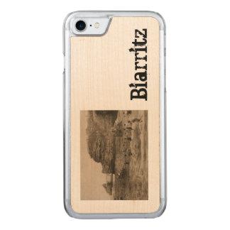 BIARRITZ - Rocher de la Virge und Bains du port Carved iPhone 8/7 Hülle