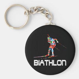 Biathlon Schlüsselanhänger