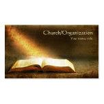 Bibel-Christentum-Religiöse Visitenkarte