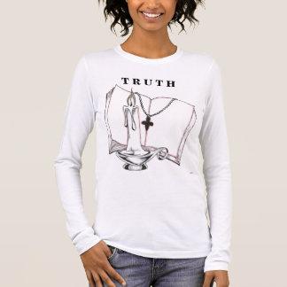 Bibel, die T R U T H zeichnet Langarm T-Shirt