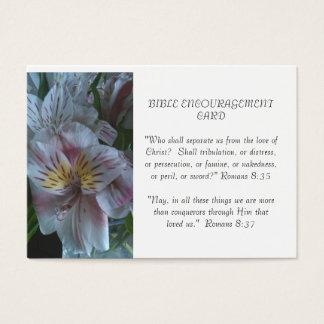 Bibel-Ermutigungs-Karte Visitenkarte