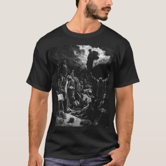 Bibel: Ezekiels Auferstehung - Gustave Dore T-Shirt