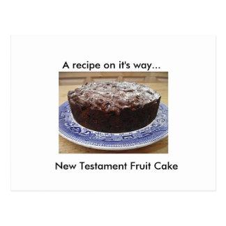Bibel-Kuchen-Rezept-Postkarte Postkarte