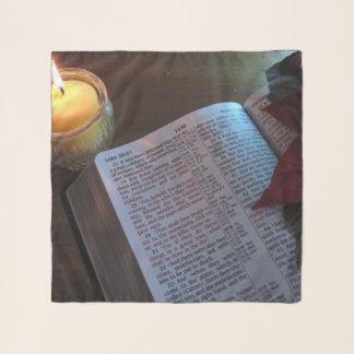 """Bibel und leuchten 26"""" x 26"""" der quadratische schal"""