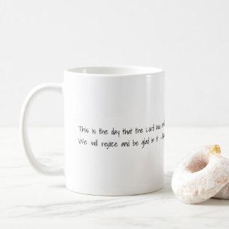 Bibel-Vers-Kaffee-Tasse Kaffeetasse