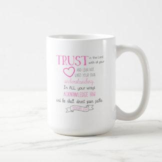Bibel-Vers-Kaffee-Tassen-Sprichwort-3:5 - 6 (15 Kaffeetasse