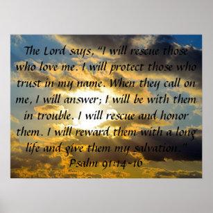 Psalm 91 Vers 11 Und 12