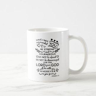 Bibel-Vers-Tasse Kaffeetasse