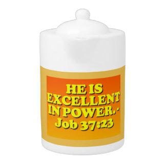 Bibel-Vers vom Job-37:23.