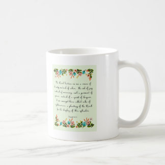 Bibel versifiziert Kunst - Jesaja-61:3 Kaffeetasse