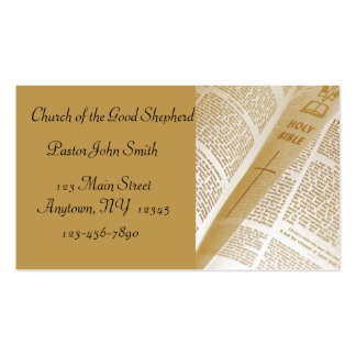 Bibel-Visitenkarte