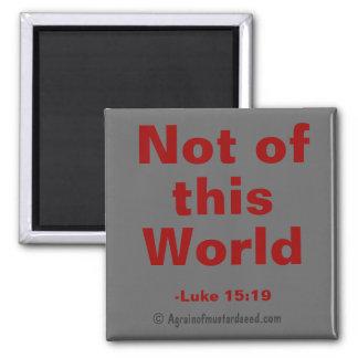 Bibel-Zitate Quadratischer Magnet