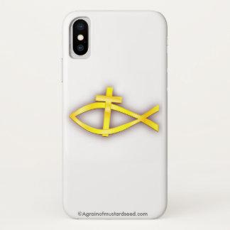 Bibel-Zitate u. Symbole iPhone X Hülle