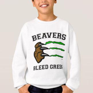 Biber bluten Grün Sweatshirt