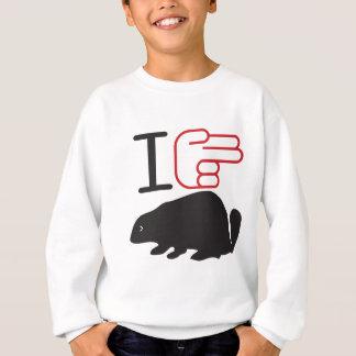 """Biber """"des Herzens I"""" Sweatshirt"""