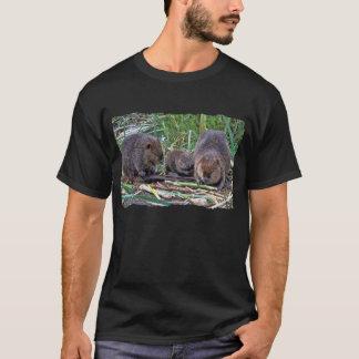 Biber-Familie T-Shirt