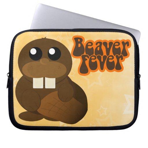 Biber-Fieber Laptop Sleeve Schutzhüllen