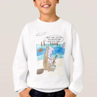 Biber gegen Farbe Sweatshirt