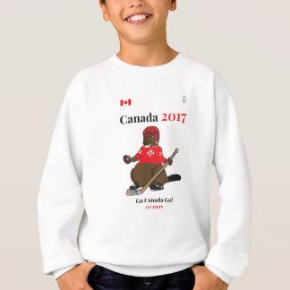 Biber-Hockey Kanadas 150 im Jahre 2017 gehen Sweatshirt