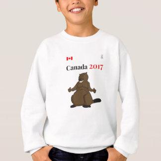 Biber Kanadas 150 im Jahre 2017 Sweatshirt