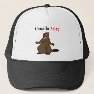Biber Kanadas 150 im Jahre 2017 Truckerkappe