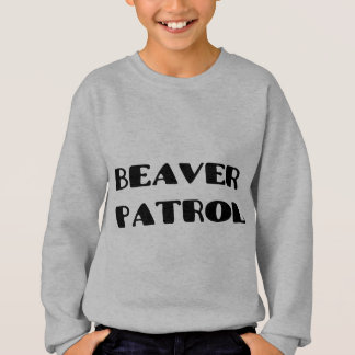 Biber-Patrouille Sweatshirt