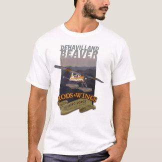 Biber-Rod-Flügel 1 T-Shirt