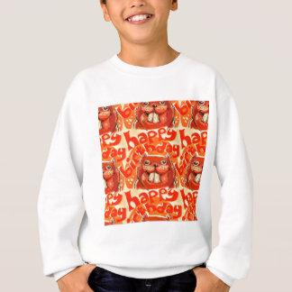 Biber sagen alles Gute zum Geburtstag Sweatshirt