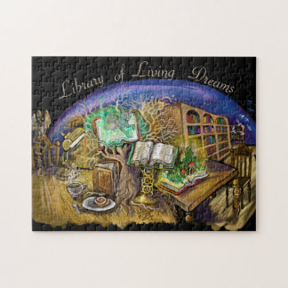 Bibliothek der lebenden Träume Puzzle