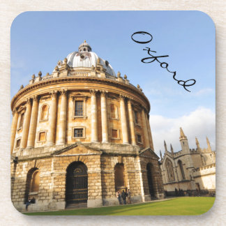 Bibliothek in Oxford, England Getränkeuntersetzer