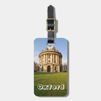 Bibliothek in Oxford, England Kofferanhänger