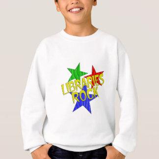 Bibliotheks-Felsen Sweatshirt