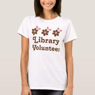 Bibliotheks-Freiwilliger T-Shirt