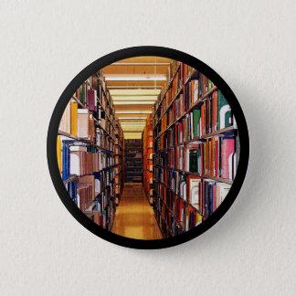 Bibliotheks-Stapel Runder Button 5,7 Cm